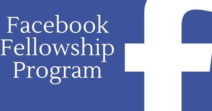 Facebook Fellowship (cualquier país)