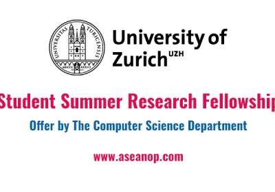 ETH Student Summer Research Fellowship (Suiza)