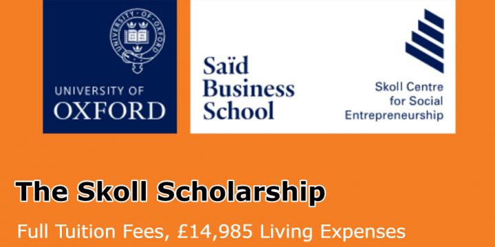 Skoll Scholarship (Inglaterra)