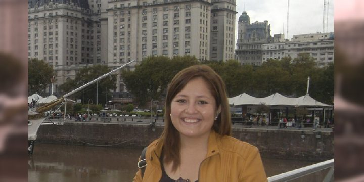 Pamela Santa Cruz <br> Ex-Becaria Margaret McNamara <br> Tutora