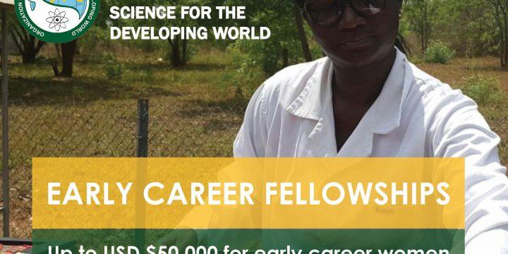 OWSD Early Career Fellowship (Cualquier país)