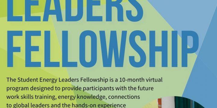 STUDENT ENERGY LEADERS FELLOWSHIP (Online)