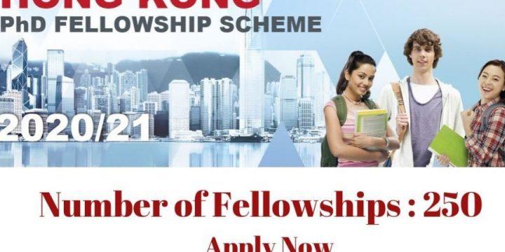 Hong Kong PhD Fellowship Scheme (Hong Kong)