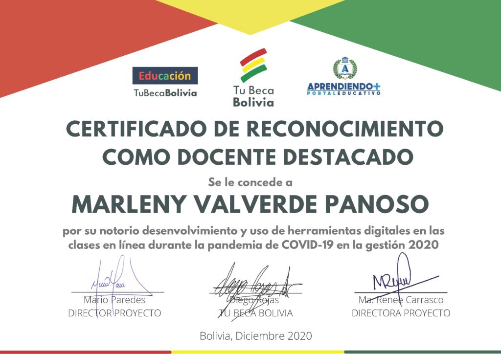 10_CERTIFICADO DE RECONOCIMIENTO Marleny Valverde Panoso