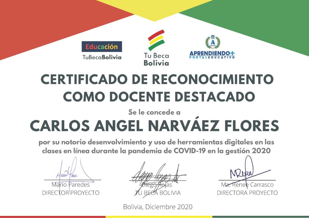 5_CERTIFICADO DE RECONOCIMIENTO Carlos Angel Narváez Flores