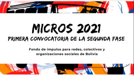 """MICROS PARA AVANZAR"" (Bolivia)"