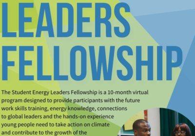 Student EneRGY LEADERS FELLOWSHIP (Cualquier país)